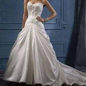 ALFRED ANGELO WEDDING DRESS & ACCESSORIES